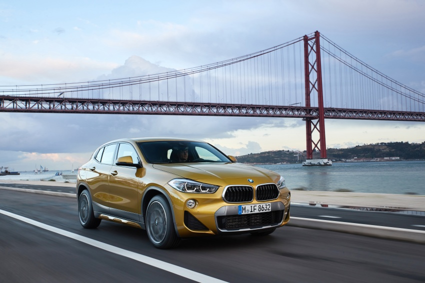 DRIVEN: F39 BMW X2 – substance beneath the looks? Image #775136