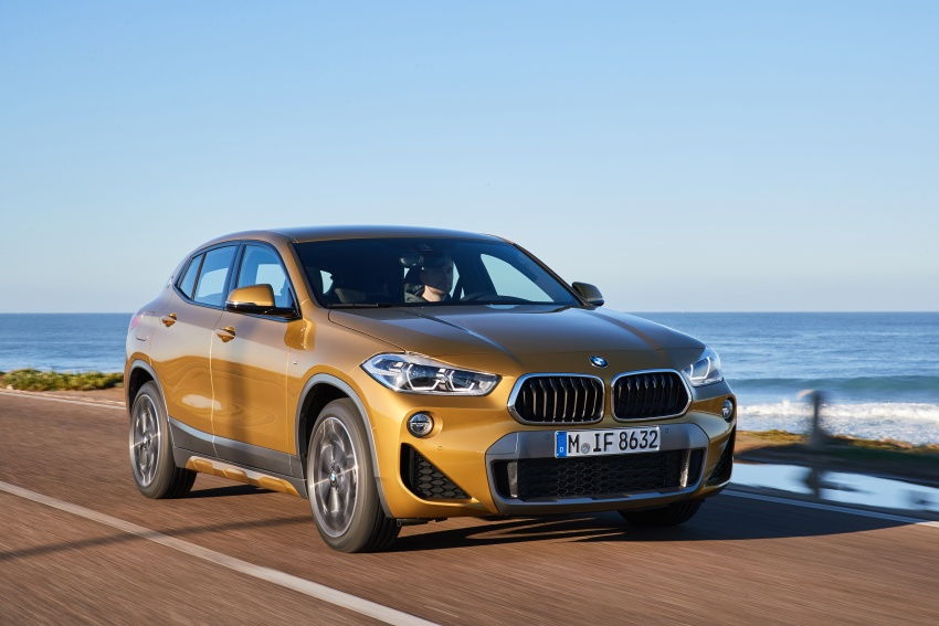 DRIVEN: F39 BMW X2 – substance beneath the looks? Image #775100