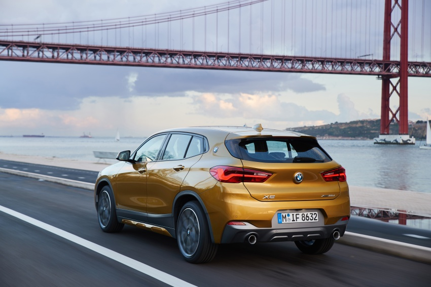 DRIVEN: F39 BMW X2 – substance beneath the looks? Image #775137