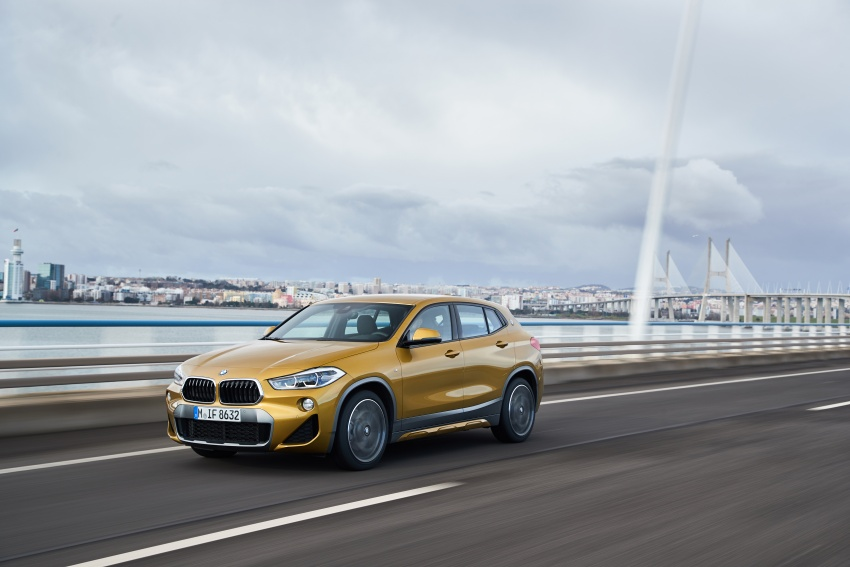DRIVEN: F39 BMW X2 – substance beneath the looks? Image #775138