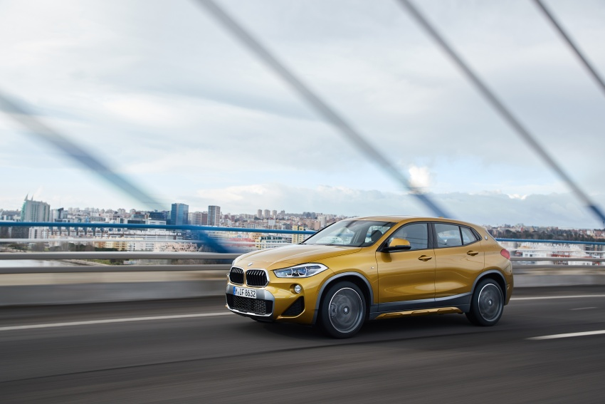DRIVEN: F39 BMW X2 – substance beneath the looks? Image #775140