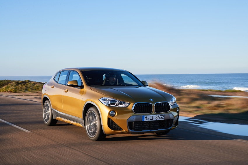 DRIVEN: F39 BMW X2 – substance beneath the looks? Image #775101