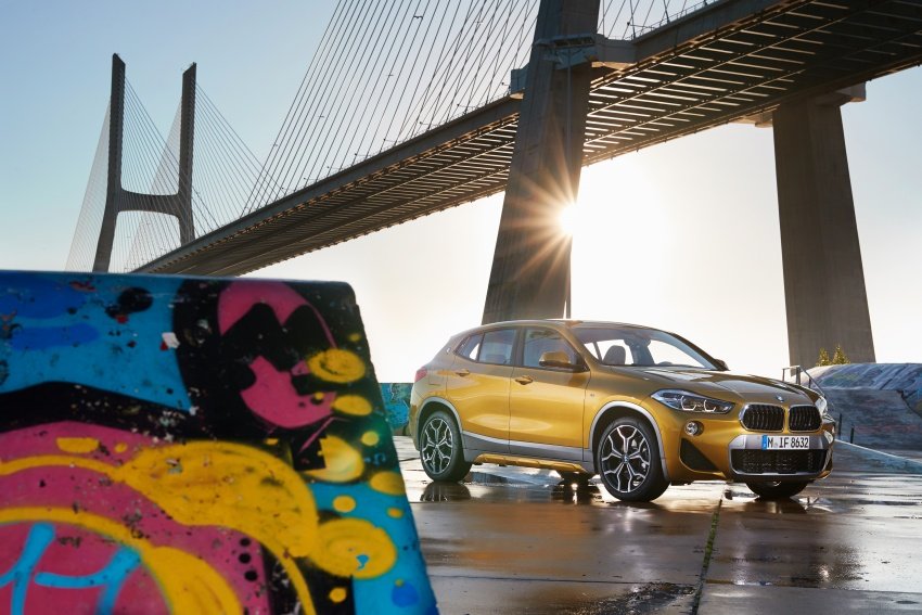 DRIVEN: F39 BMW X2 – substance beneath the looks? Image #775148