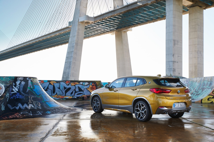 DRIVEN: F39 BMW X2 – substance beneath the looks? Image #775152