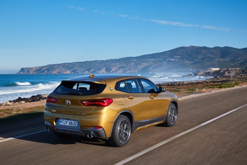 DRIVEN: F39 BMW X2 – substance beneath the looks? Image #775102