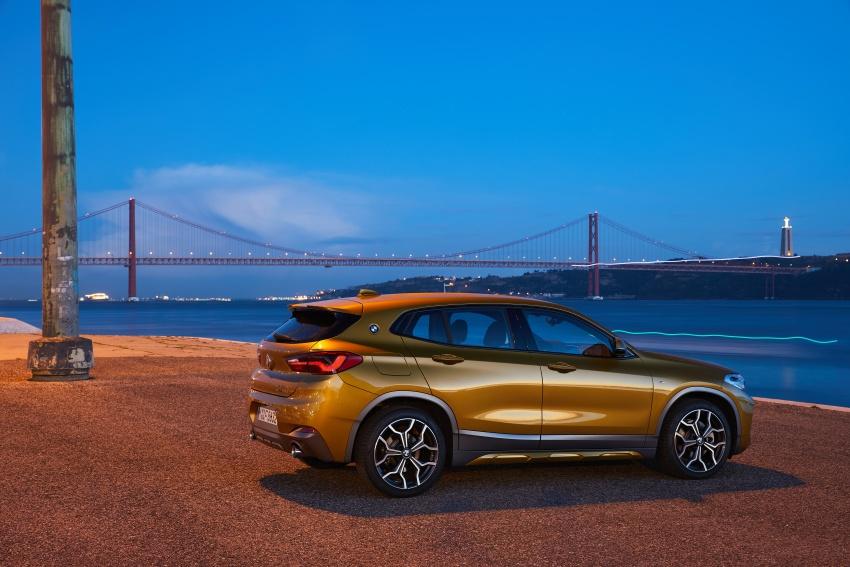 DRIVEN: F39 BMW X2 – substance beneath the looks? Image #775158
