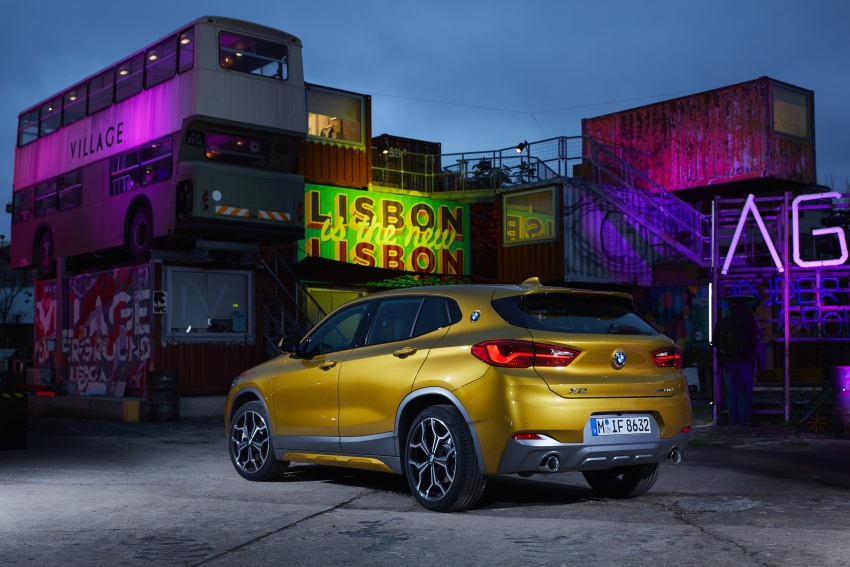 DRIVEN: F39 BMW X2 – substance beneath the looks? Image #775161