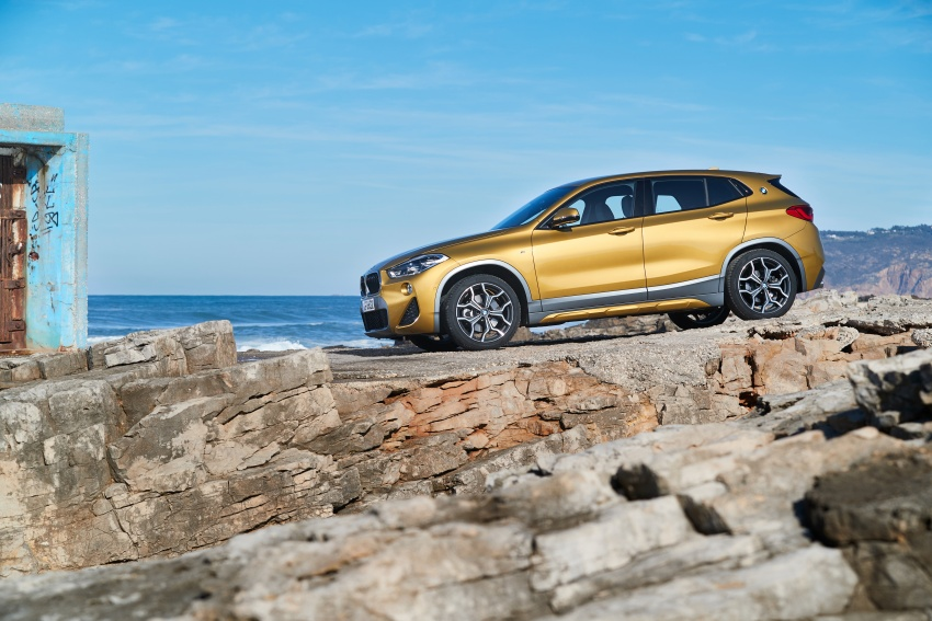 DRIVEN: F39 BMW X2 – substance beneath the looks? Image #775166