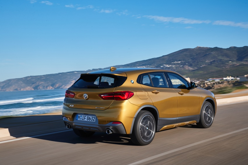 DRIVEN: F39 BMW X2 – substance beneath the looks? Image #775103
