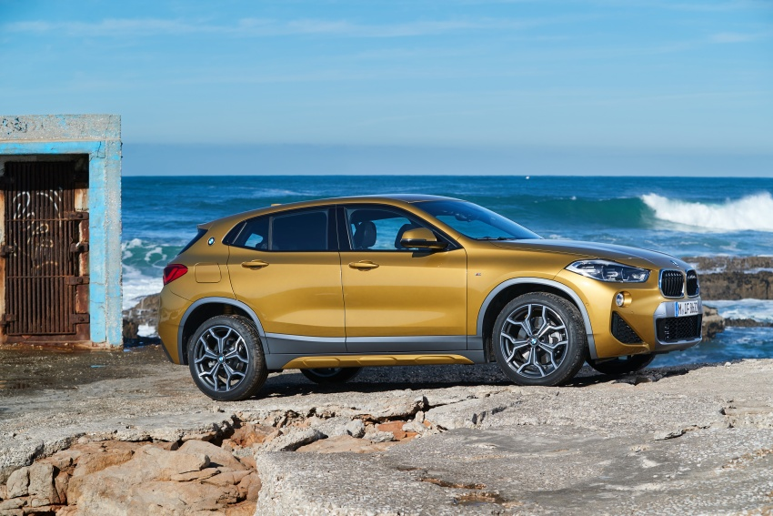 DRIVEN: F39 BMW X2 – substance beneath the looks? Image #775167