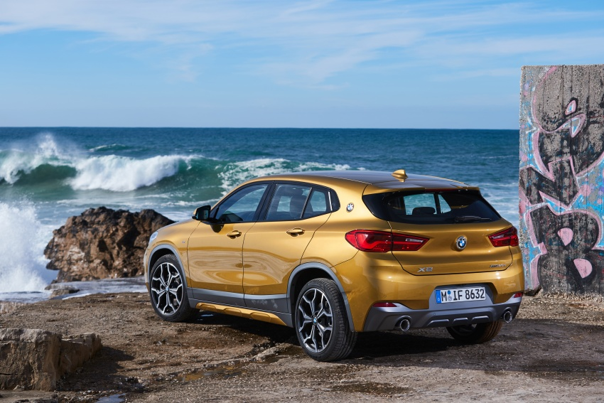 DRIVEN: F39 BMW X2 – substance beneath the looks? Image #775169