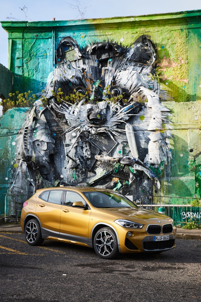 DRIVEN: F39 BMW X2 – substance beneath the looks? Image #775175