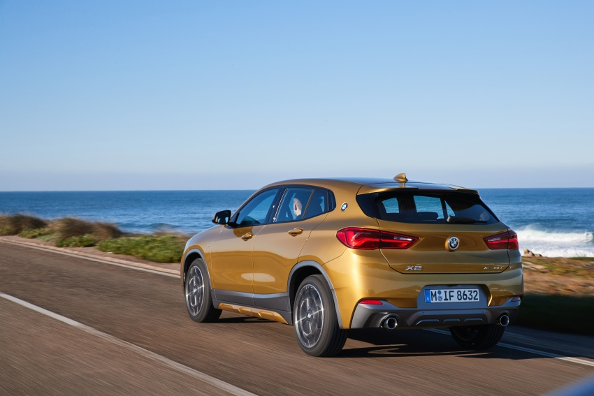 DRIVEN: F39 BMW X2 – substance beneath the looks? Image #775104
