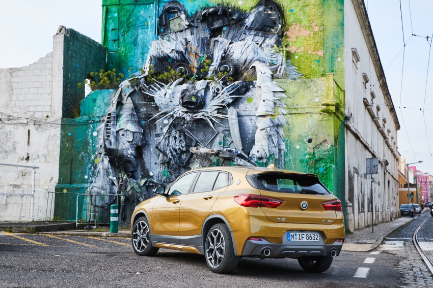 DRIVEN: F39 BMW X2 – substance beneath the looks? Image #775179