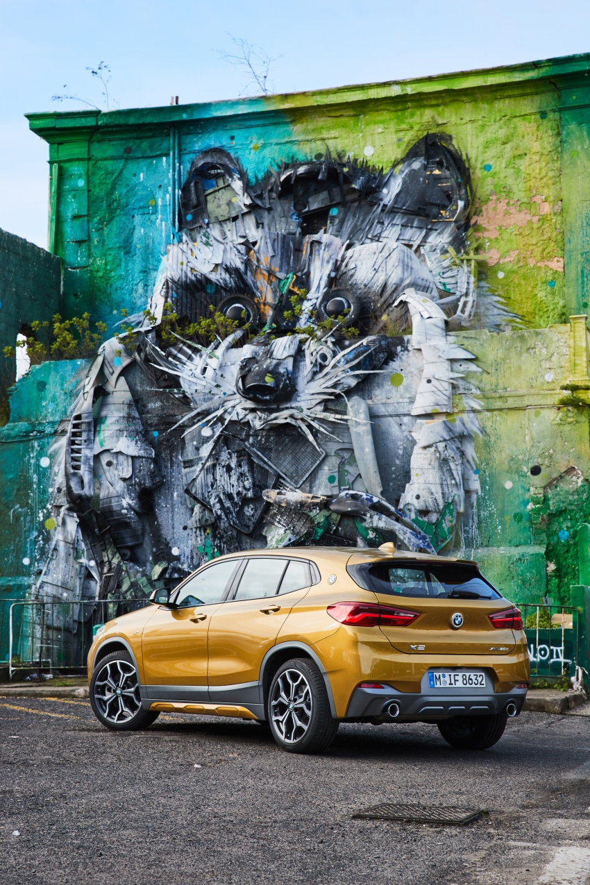 DRIVEN: F39 BMW X2 – substance beneath the looks? Image #775180