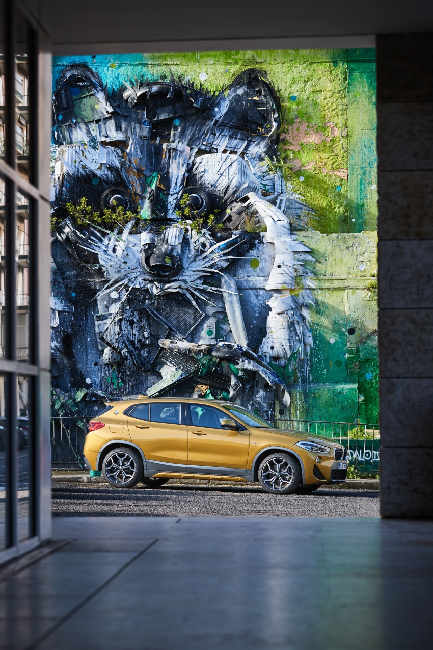 DRIVEN: F39 BMW X2 – substance beneath the looks? Image #775181
