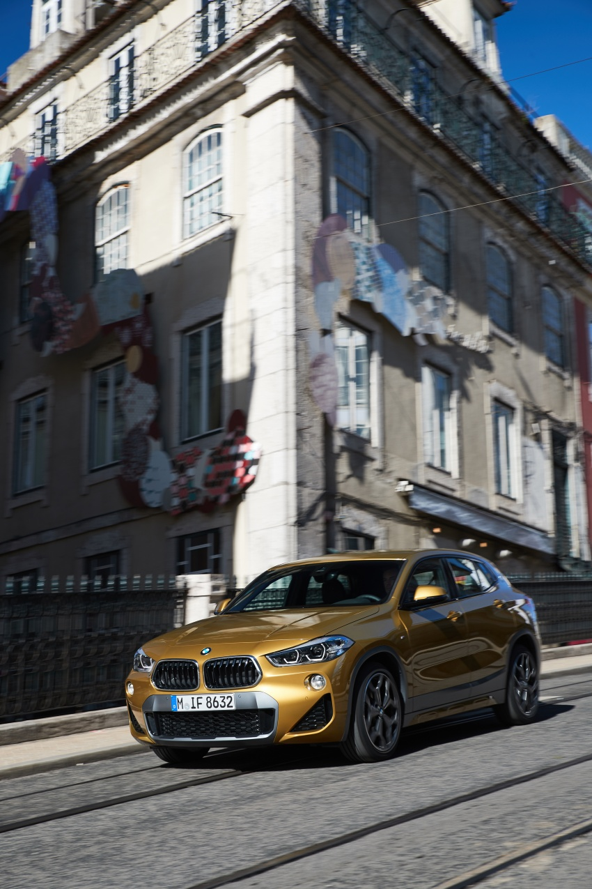 DRIVEN: F39 BMW X2 – substance beneath the looks? Image #775182