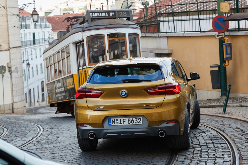 DRIVEN: F39 BMW X2 – substance beneath the looks? Image #775186