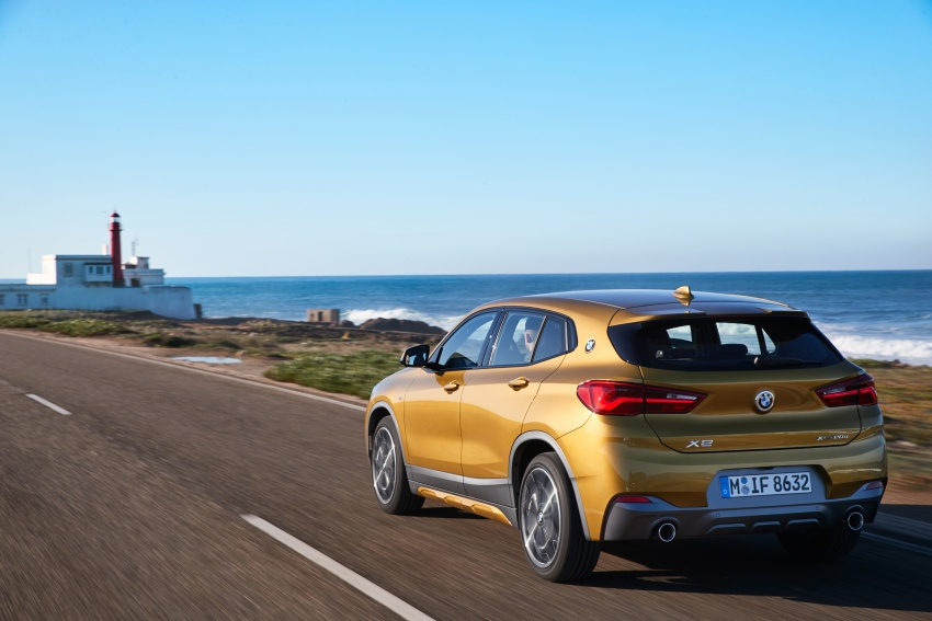 DRIVEN: F39 BMW X2 – substance beneath the looks? Image #775106