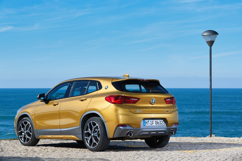 DRIVEN: F39 BMW X2 – substance beneath the looks? Image #775191