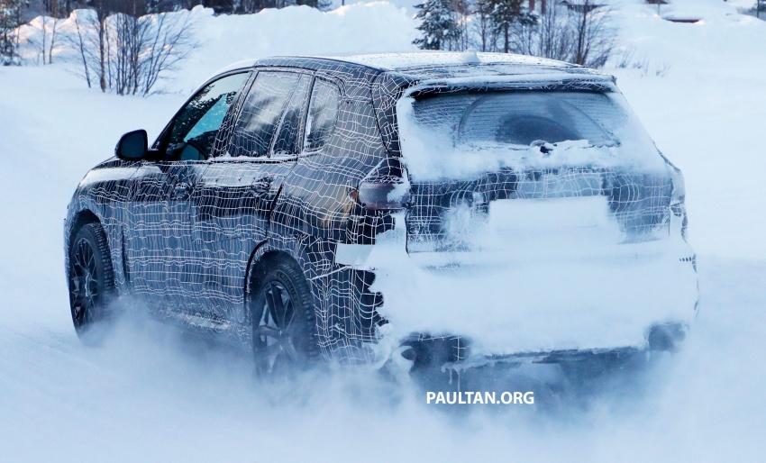 SPYSHOTS: Next BMW X5 M spotted winter testing Image #774233