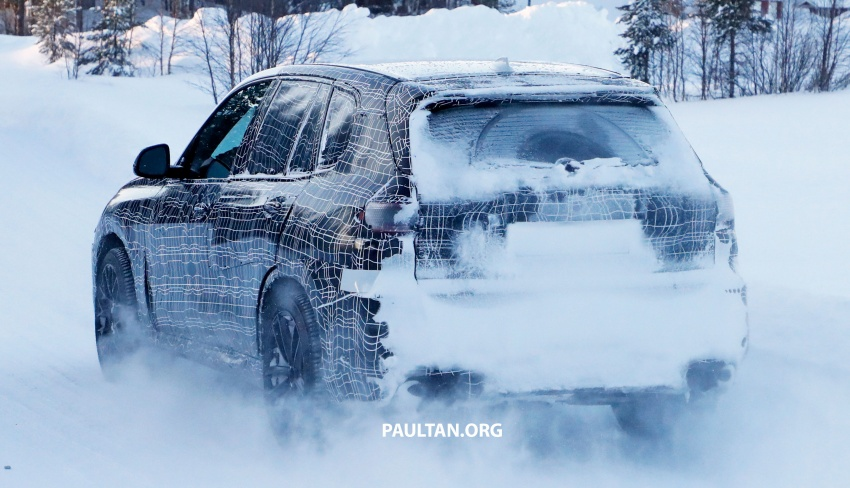 SPYSHOTS: Next BMW X5 M spotted winter testing Image #774234