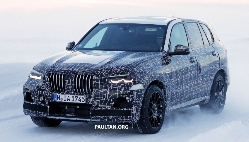 SPYSHOTS: Next BMW X5 M spotted winter testing Image #774225
