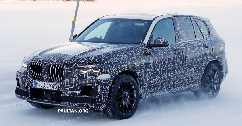 SPYSHOTS: Next BMW X5 M spotted winter testing Image #774226