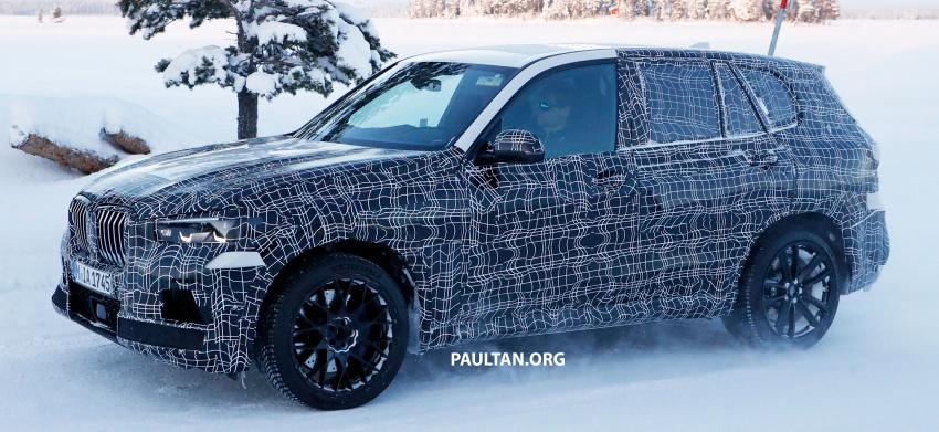 SPYSHOTS: Next BMW X5 M spotted winter testing Image #774228