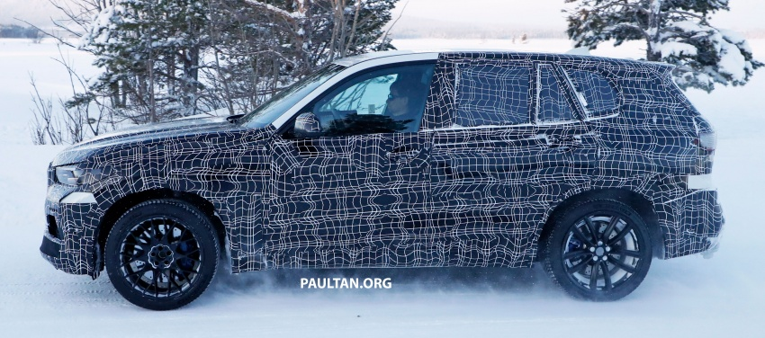 SPYSHOTS: Next BMW X5 M spotted winter testing Image #774230
