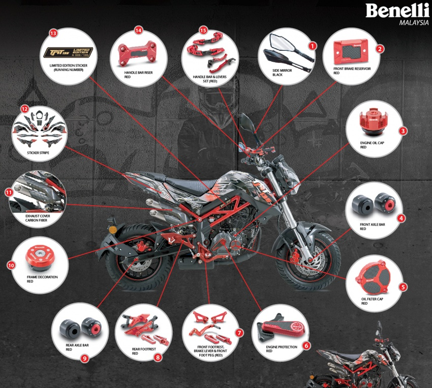 Benelli TNT 135 LE – terhad 1,000 unit, harga RM9,988 Image #778747