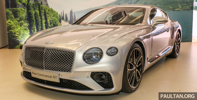 2018 bentley continental gt launched – rm1.9mil est