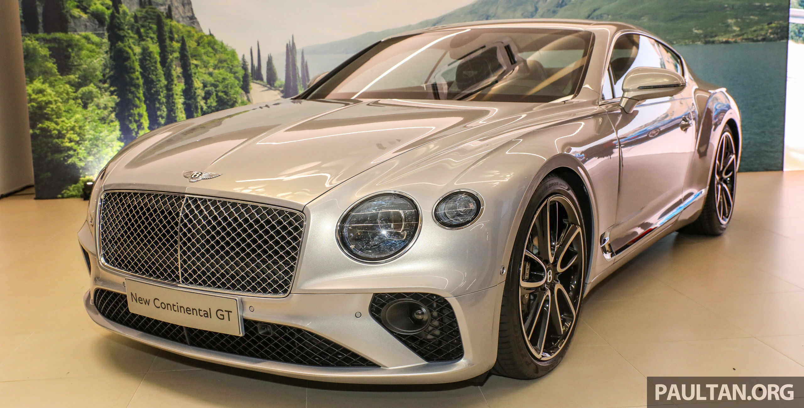 2018 Bentley Continental GT Launched