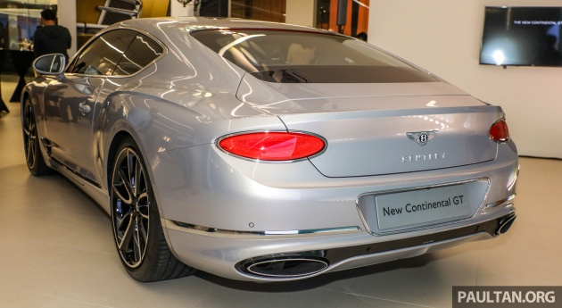 To Match The New Template Bentley Has Gone For More Sculpted Bodysides Using A Process Called Superforming Which Involves Heating Aluminium Panels