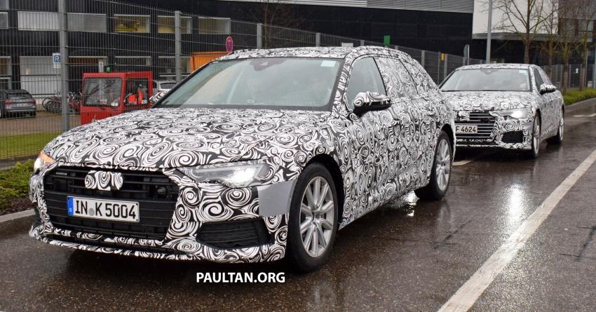 SPYSHOTS: C8 Audi A6 Avant seen with sedan sibling Image #774249