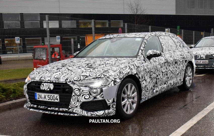 SPYSHOTS: C8 Audi A6 Avant seen with sedan sibling Image #774250