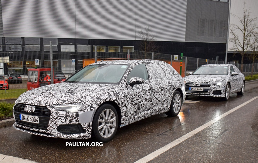 SPYSHOTS: C8 Audi A6 Avant seen with sedan sibling Image #774251