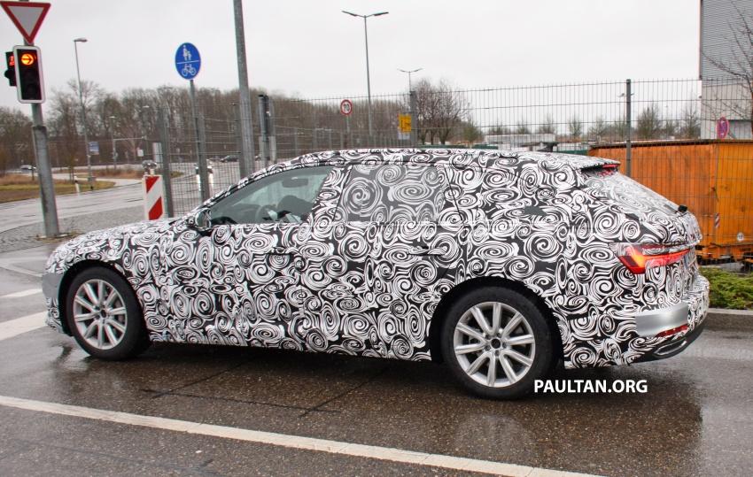 SPYSHOTS: C8 Audi A6 Avant seen with sedan sibling Image #774256