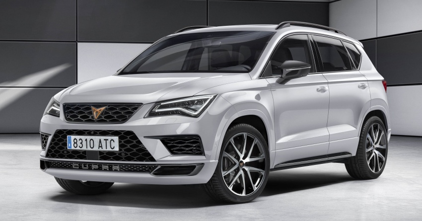 Seat launches new Cupra sub-brand – performance-focused Ateca, two concepts, race car introduced Image #782919