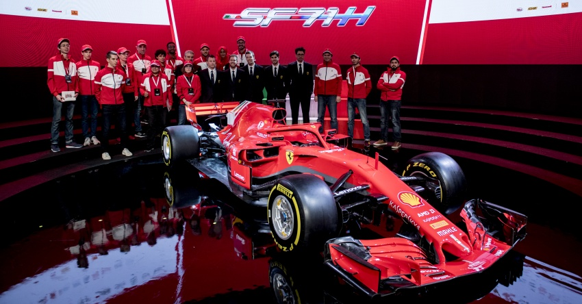 Ferrari SF71H – 2018 F1 contender officially revealed Image #782618