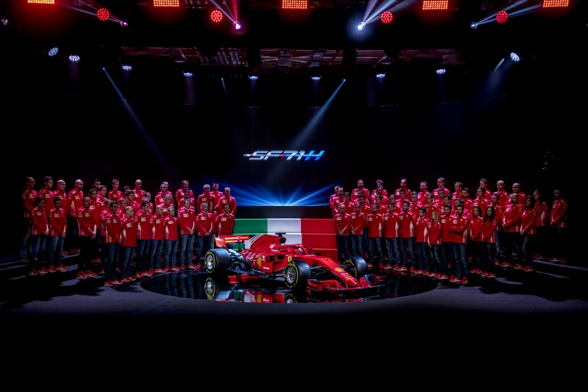 Ferrari SF71H – 2018 F1 contender officially revealed Image #782615