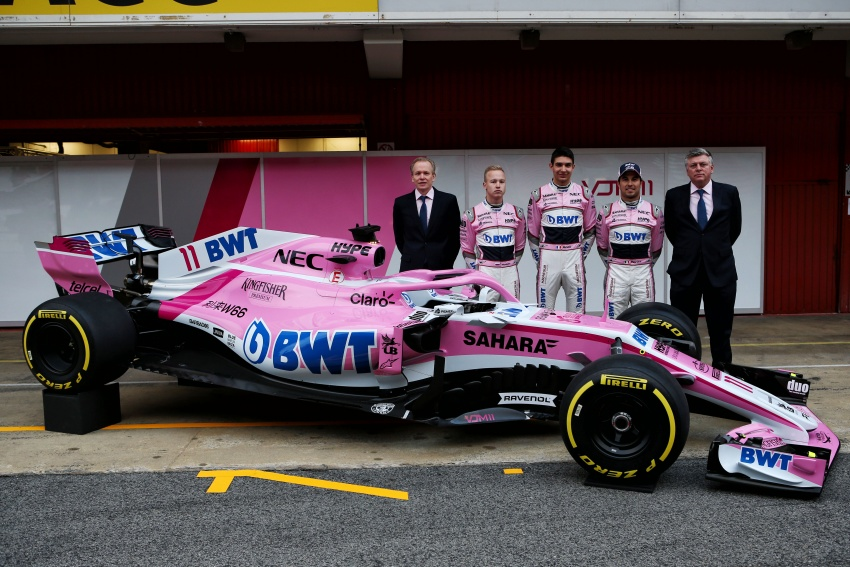 Toro Rosso and Force India reveal their 2018 F1 cars Image #783677
