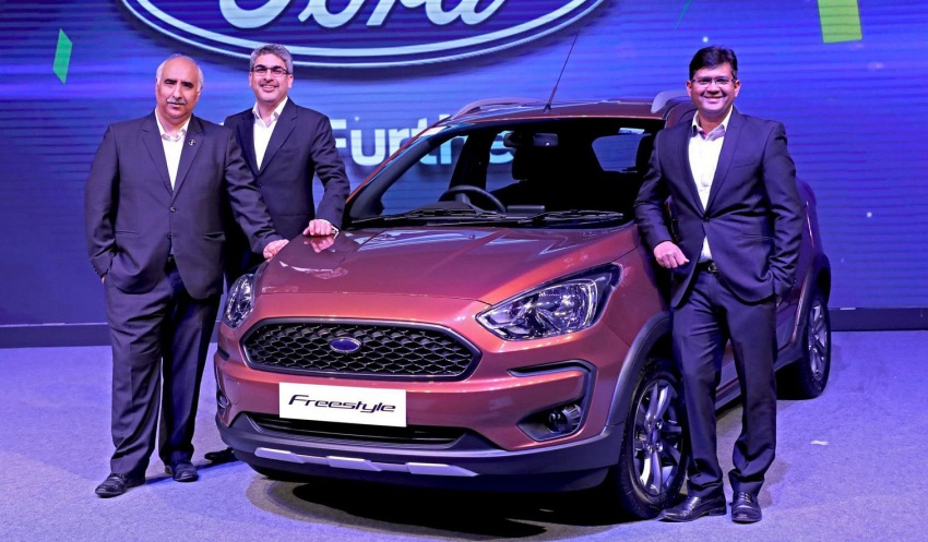 Ford Freestyle debuts – Figo-based crossover for India Image #773366