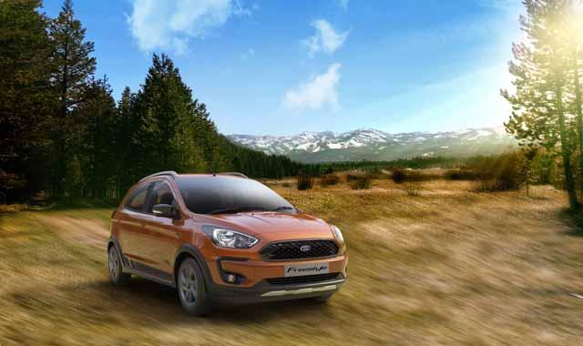 Ford Freestyle – crossover berasaskan Figo di India Image #773632