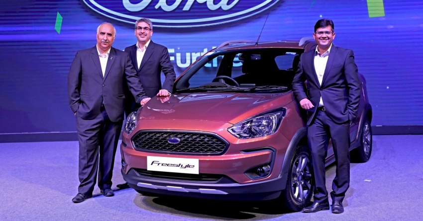 Ford Freestyle debuts – Figo-based crossover for India Image #773367