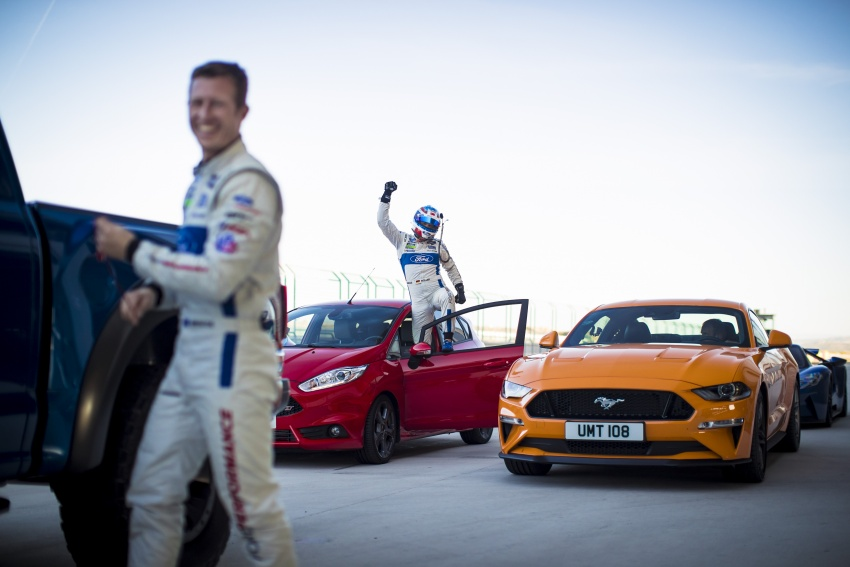 VIDEO: Ford Performance models battle it out on track Image #773318