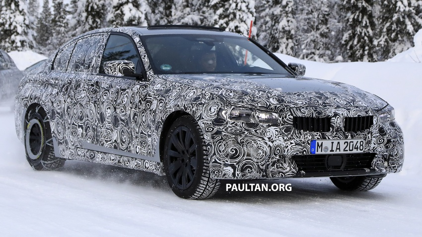 SPIED: G20 BMW 3 Series drops yet more camouflage Image #775260