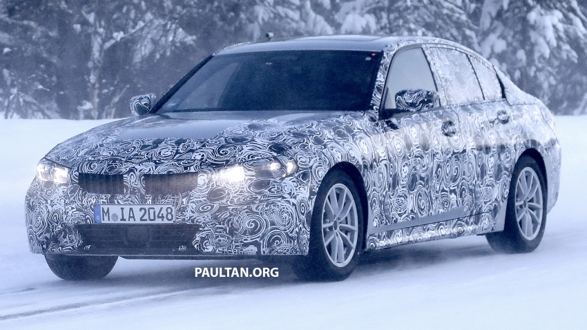 SPIED: G20 BMW 3 Series drops yet more camouflage Image #775269