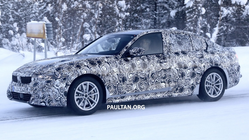 SPIED: G20 BMW 3 Series drops yet more camouflage Image #775270