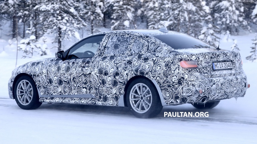 SPIED: G20 BMW 3 Series drops yet more camouflage Image #775272